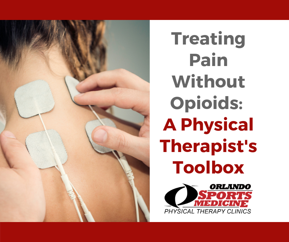 Treating Pain Without Opioids:  A Physical Therapist's Toolbox
